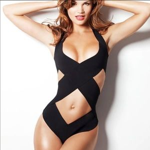 Black sexy swimsuit